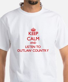 Keep calm and listen to OUTLAW COUNTRY T-Shirt
