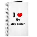 I Love Step-Father Journal