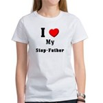 I Love Step-Father Women's T-Shirt