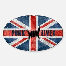 Punk Lives-BRITISH FLAG Decal