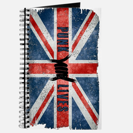 Punk Lives-British Flag Journal