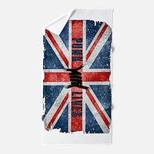 Punk Lives-British Flag Beach Towel