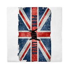 Punk Lives-British Flag Queen Duvet
