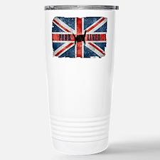 Punk Lives-BRITISH FLAG Travel Mug