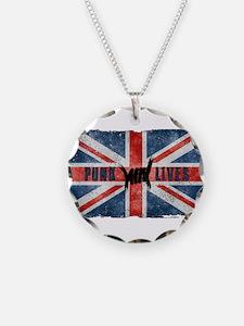 Punk Lives-BRITISH FLAG Necklace