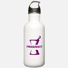 Purple Mortar and Pest Water Bottle
