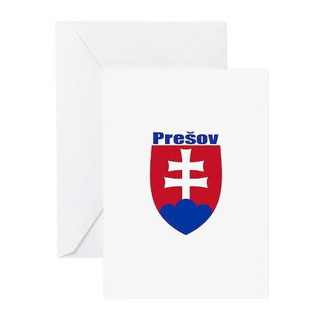 Presov, Slovakia Greeting Cards (Pk of 10)
