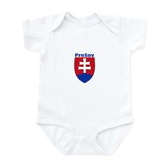Presov, Slovakia Infant Bodysuit