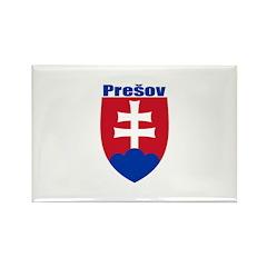 Presov, Slovakia Rectangle Magnet