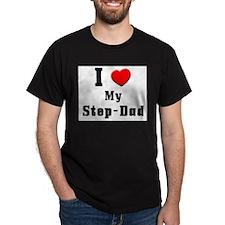I Love Step-Dad T-Shirt
