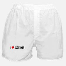 I Love Slovakia Boxer Shorts