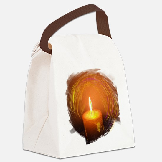 Funny Wishing angels Canvas Lunch Bag