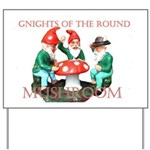 gnites of the round table.jpg Yard Sign