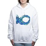 electrofish.jpg Women's Hooded Sweatshirt