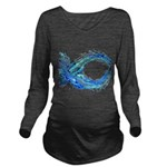 electrofish.jpg Long Sleeve Maternity T-Shirt