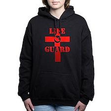 LIFE GUARD RTL RED.jpg Women's Hooded Sweatshirt