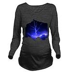 lightning8.jpg Long Sleeve Maternity T-Shirt