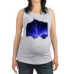 lightning8.jpg Maternity Tank Top