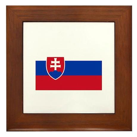 Kosice, Slovakia Framed Tile