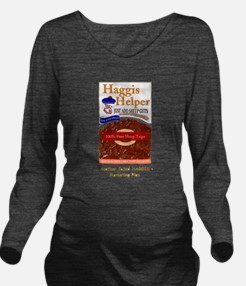 haggis helper.jpg Long Sleeve Maternity T-Shirt
