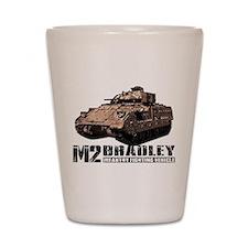 M2 Bradley Shot Glass