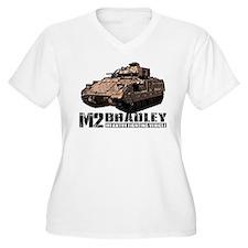 M2 Bradley Plus Size T-Shirt