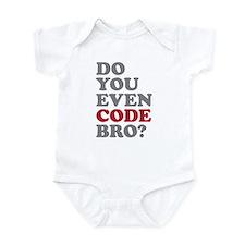 Do You Even Code Bro Onesie