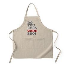 Do You Even Code Bro Apron