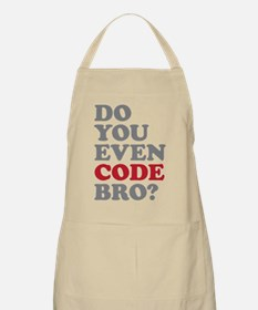 Do You Even Code Bro Apron