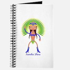 Brazillian Samba Dancer Journal