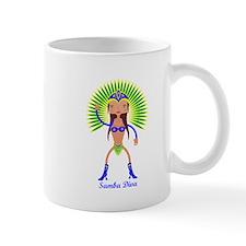 Brazillian Samba Dancer Mugs