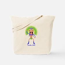 Brazillian Samba Dancer Tote Bag