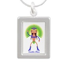 Brazillian Samba Dancer Necklaces