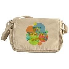 Tap Dancing Colors My World Messenger Bag