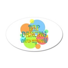 Tap Dancing Colors My World Wall Decal