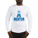 #1 Mentor Men's Long Sleeve T-Shirt
