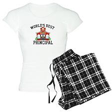 Worlds Best Principal School House Pajamas