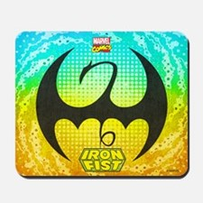 Iron Fist Logo Mousepad