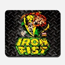 Iron Fist Metal Mousepad