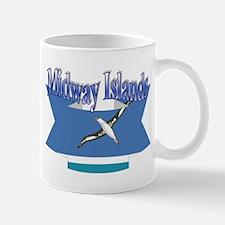 Midway Islands flag ribbon Mug