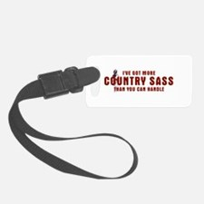 Country Sass Luggage Tag