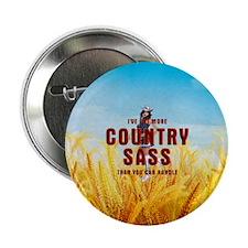 "Country Sass 2.25"" Button"