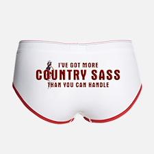 Country Sass Women's Boy Brief