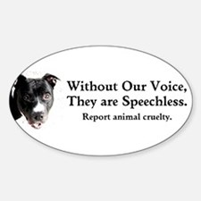 Without Our Voice Decal