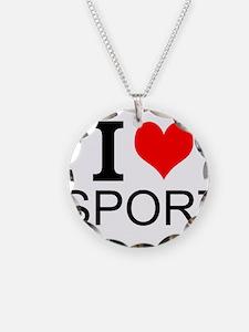 I Love Sports Necklace