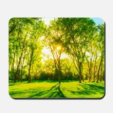 Green Forest Mousepad