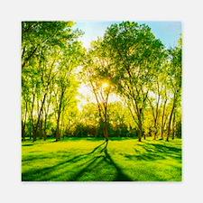 Green Forest Queen Duvet
