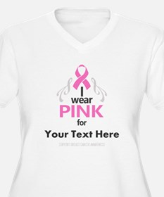 Personal Pink Plus Size T-Shirt