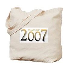 Class of 2007 Yellow Tote Bag