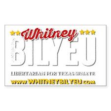 Whitney Bilyeu for Texas Decal